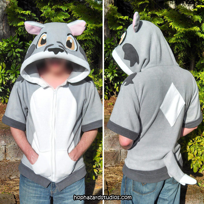 Fritzy Wolf Hoodie